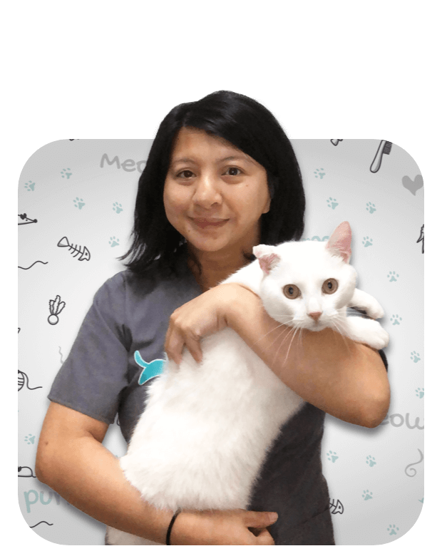 Dianne, a Registered Veterinary Technician