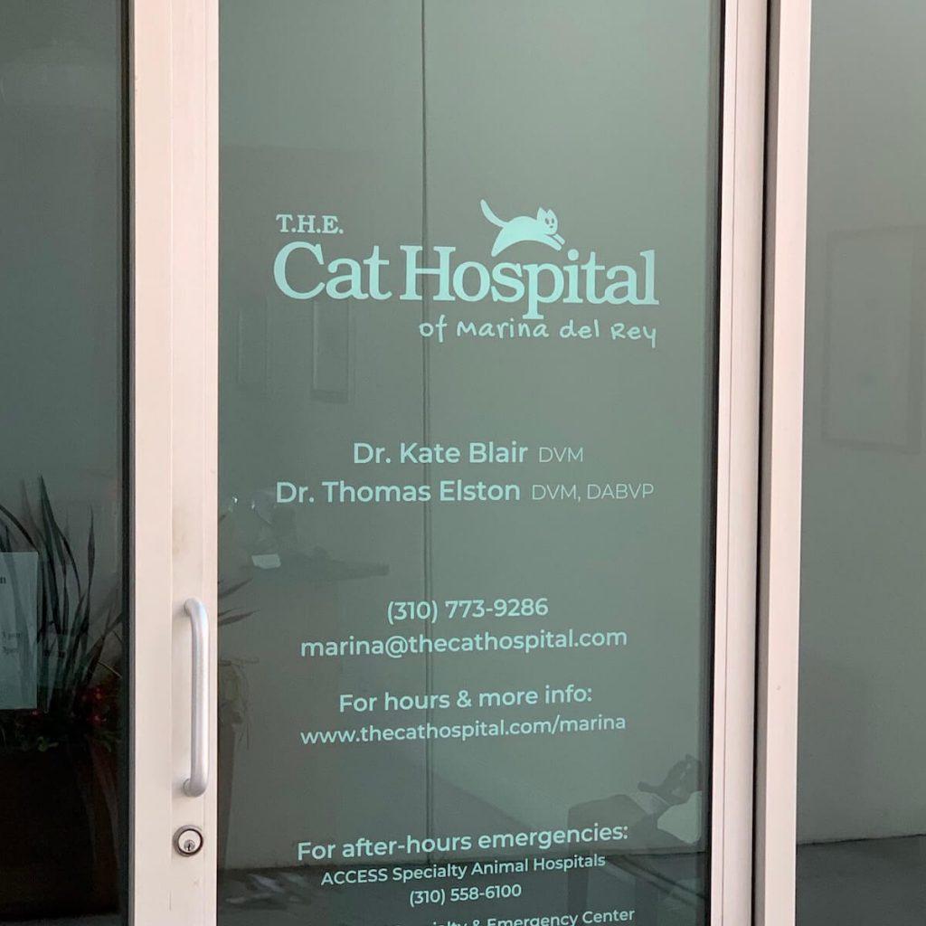 T.H.E. Cat Hospital Logo